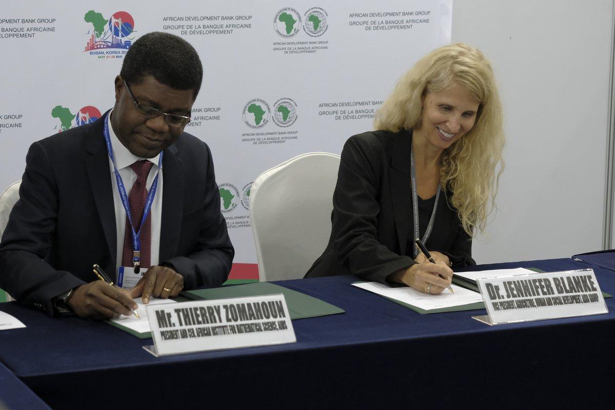 53eme Assemblées annuelles : la BAD et l'IAMS scrutent des opportunités de partenariats potentiels