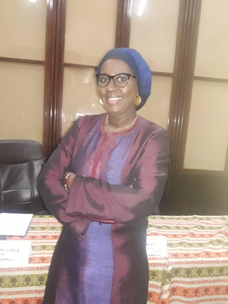 Denise Fatoumata Ndour , Administrateur général de Sen'Finances.