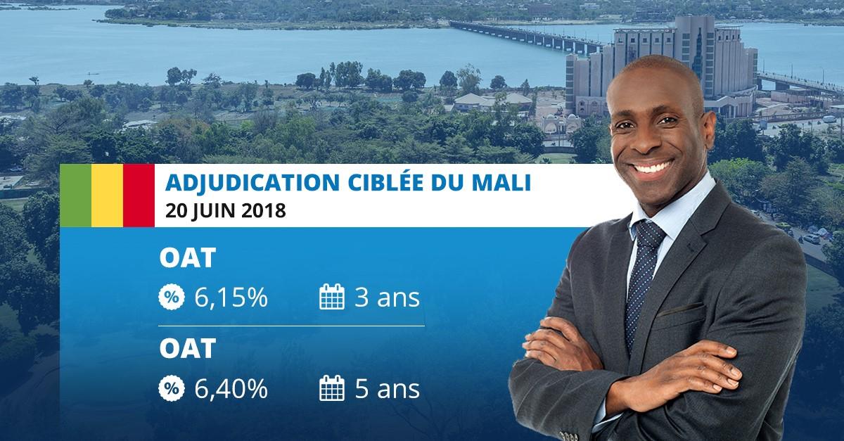 Adjudication ciblée : Le Mali sollicite 50 milliards de FCFA sur le Marché des Titres Publics de l'UEMOA