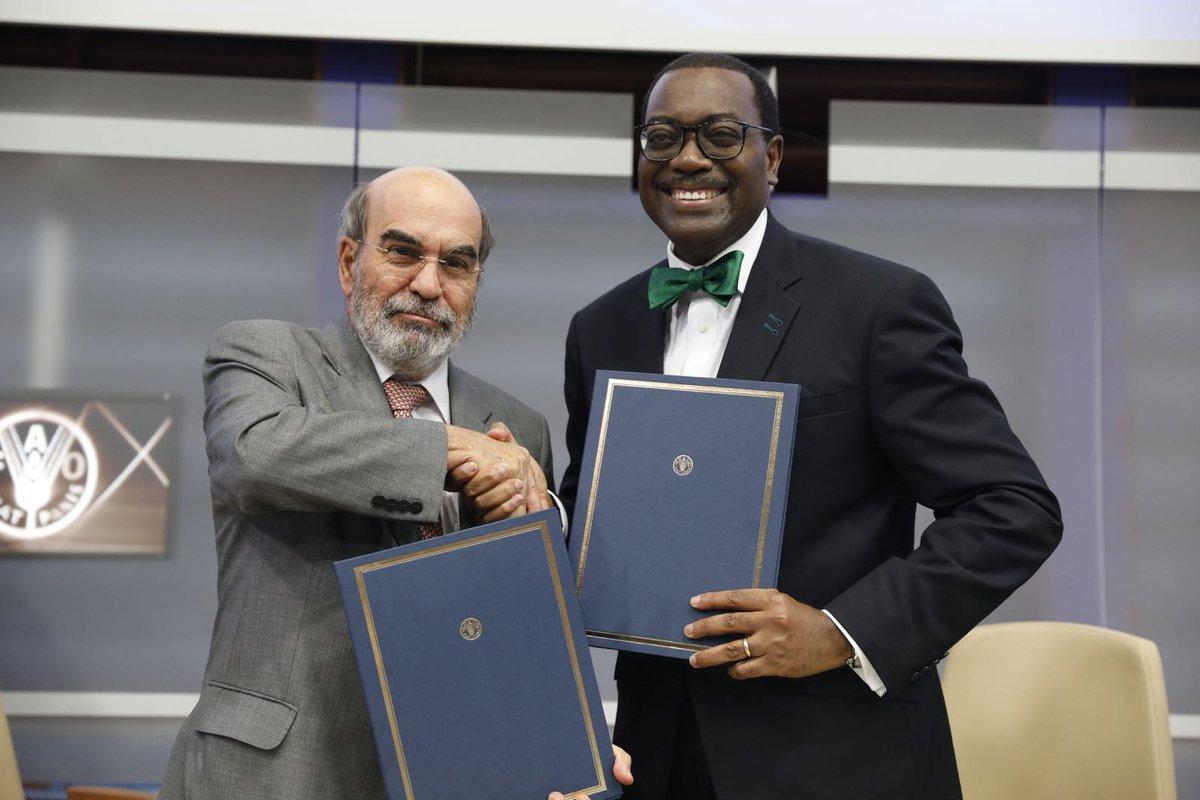Investissements dans l'agriculture : La Bad et la Fao prévoient de mobiliser jusqu'à 100 millions de dollars