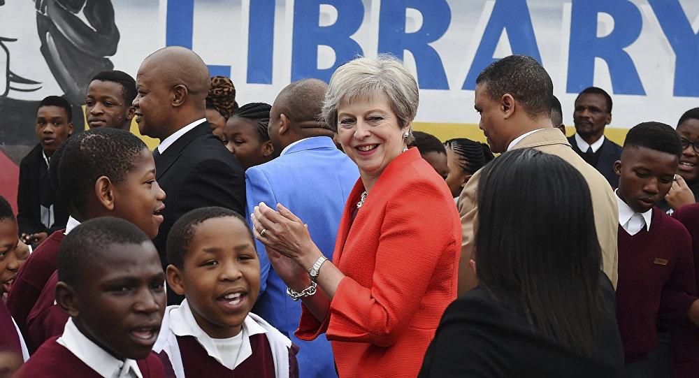 Tournée africaine de Theresa May : Des accords d'une valeur de plus de 300 millions £ ont été conclus