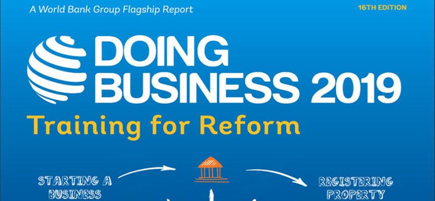environnement des affaires le rapport doing business 2019 recense
