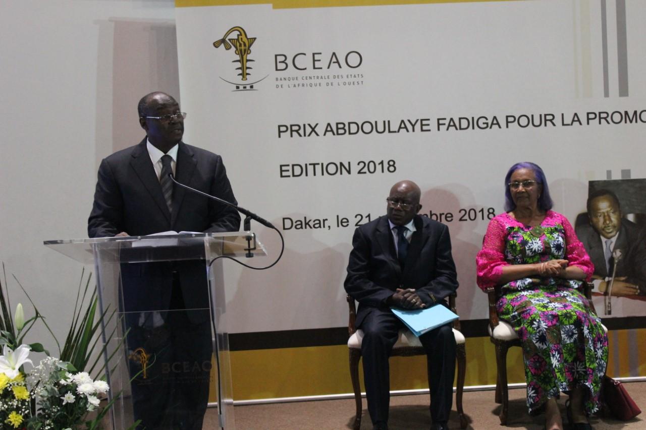 Prix Abdoulaye FADIGA   2018 : Le Togolais Vigninou Gammadigbe lauréat