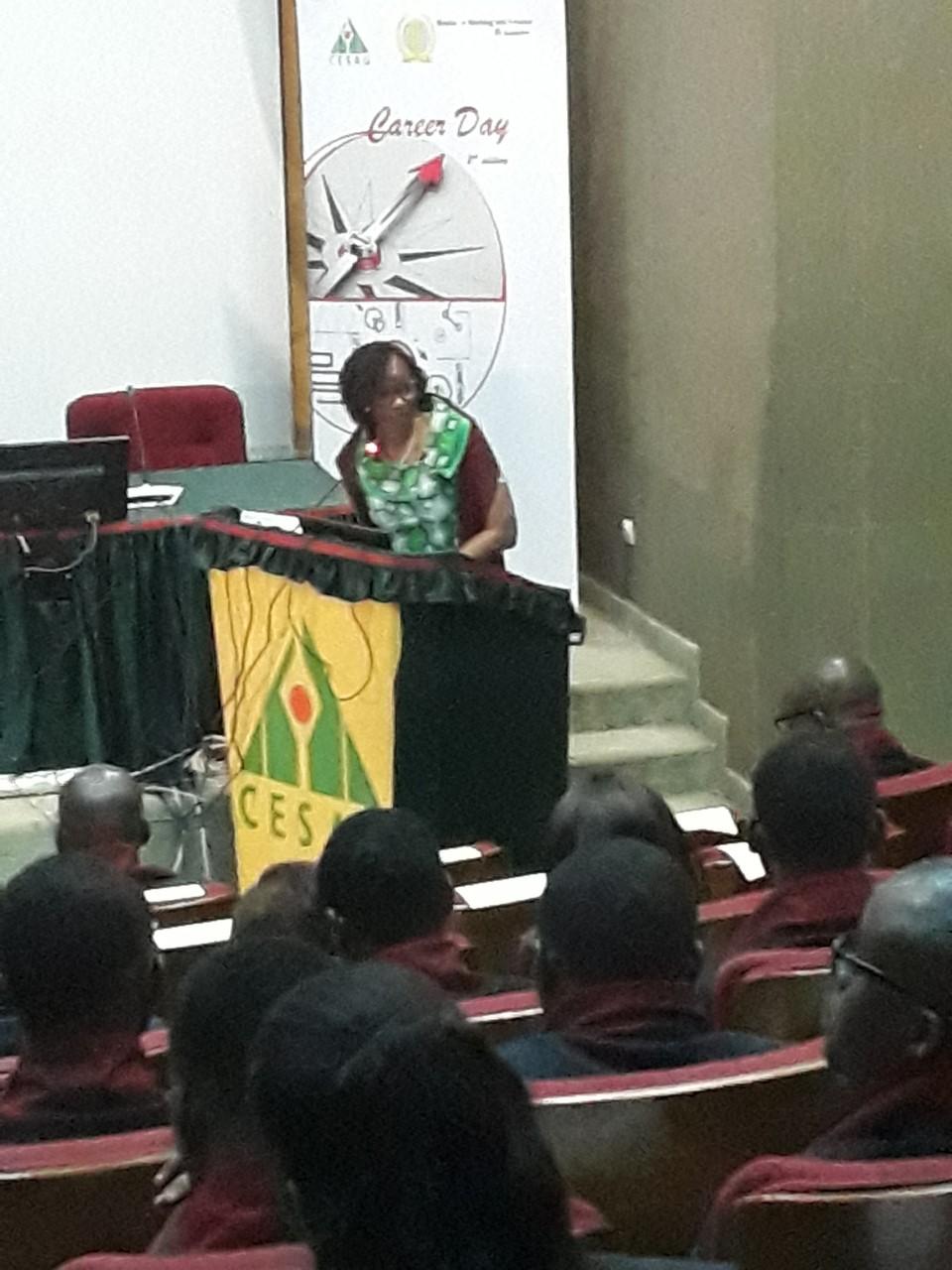 Bineta Touré Ndoye,  Directrice générale Oragroup