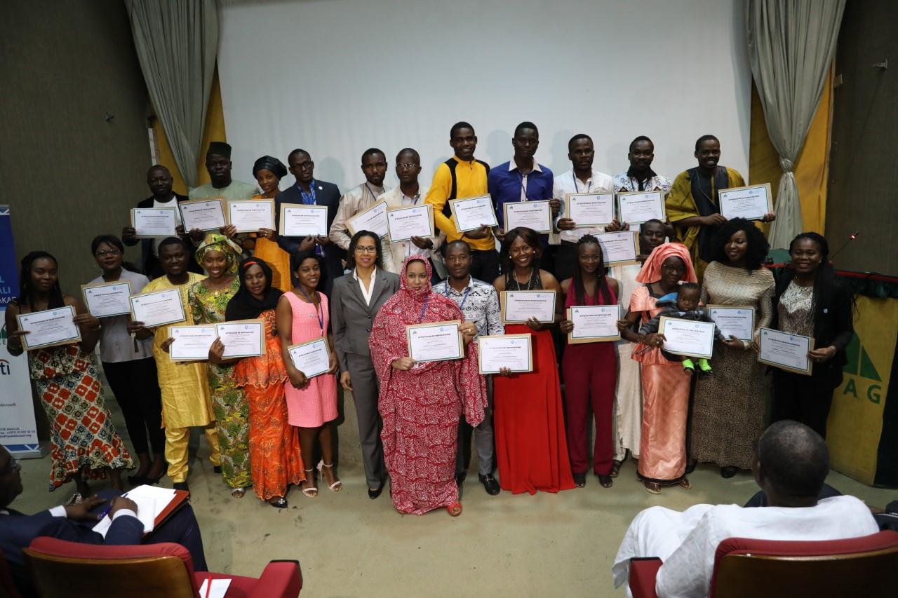 Les jeunes leaders du YALI appelés à rendre virtuel les frontières pour participer à la transformation de l'Afrique