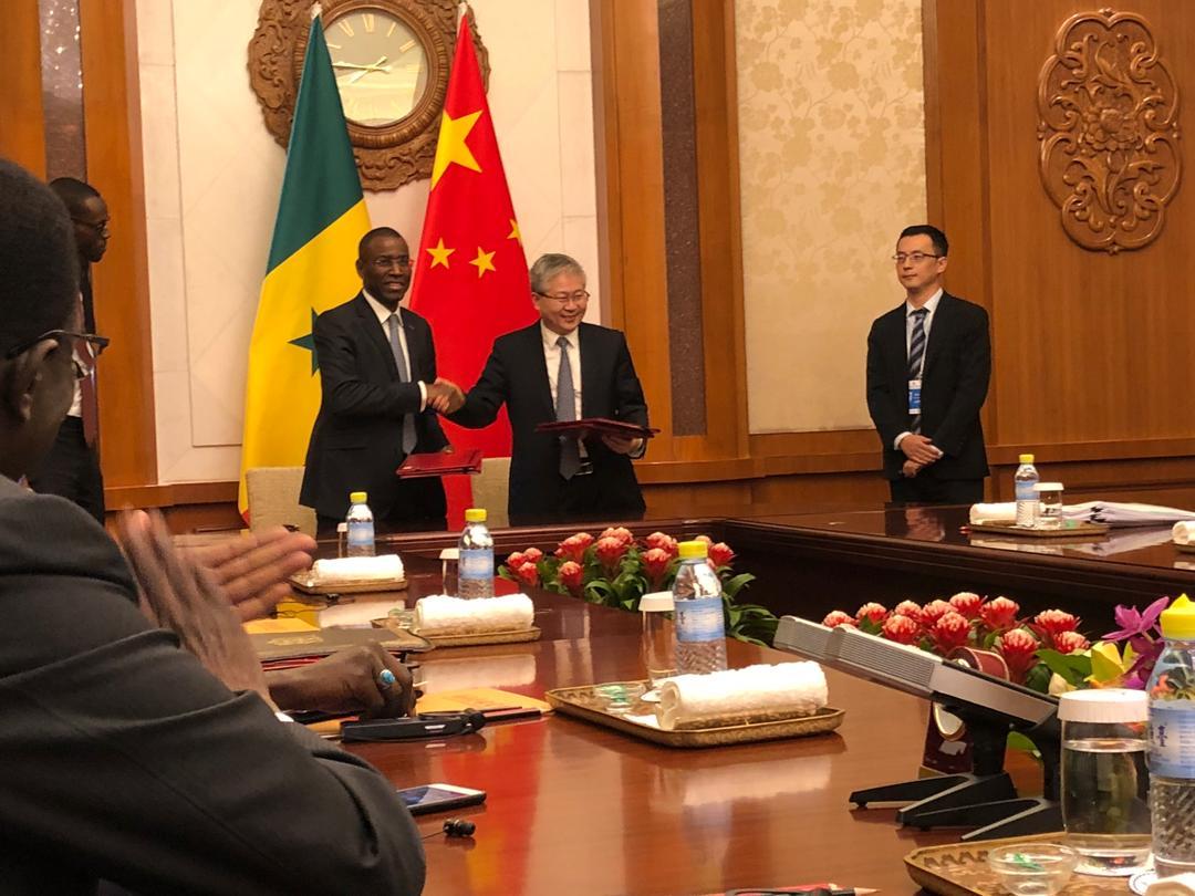 Réalisation de projets : La  Chine accorde un don de 25 milliards FCFA au Sénégal