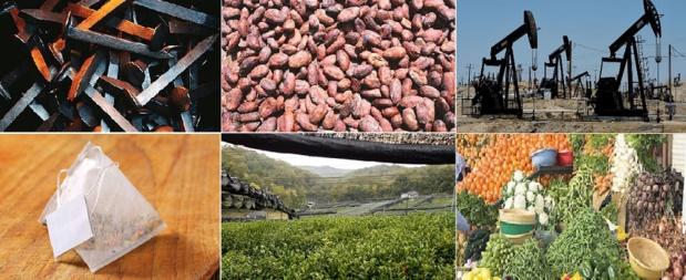 Exportations des pays de  l'Uemoa : Evolution contrastée des prix des matières premières