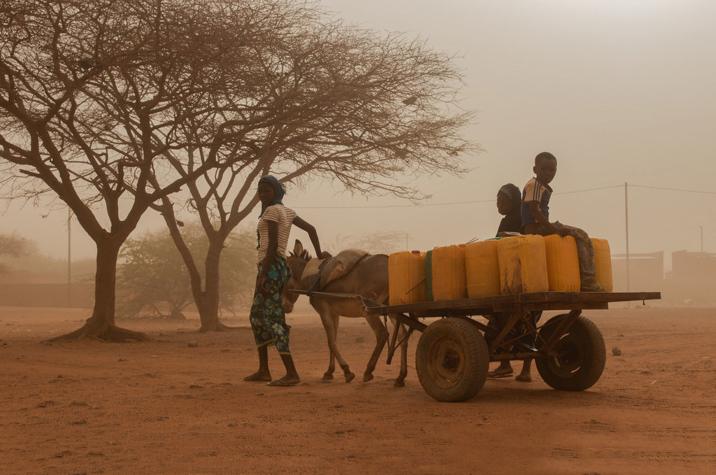 Photo : OCHA/Otto Bakano Le nord du Burkina Faso est confronté à une vague de violences qui a déplacé des populations de plus en plus vulnérables.