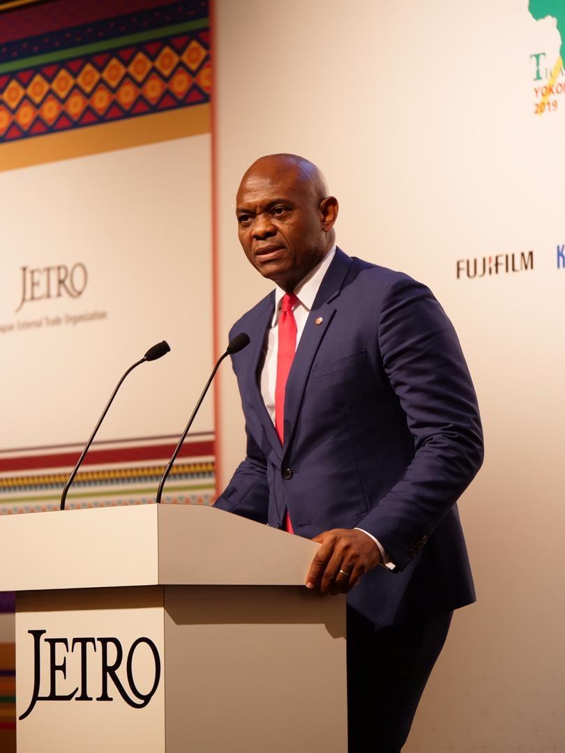 Présent à la Ticad 7 : Tony Elumelu invite le Japon à investir 5% pour les entrepreneurs africains