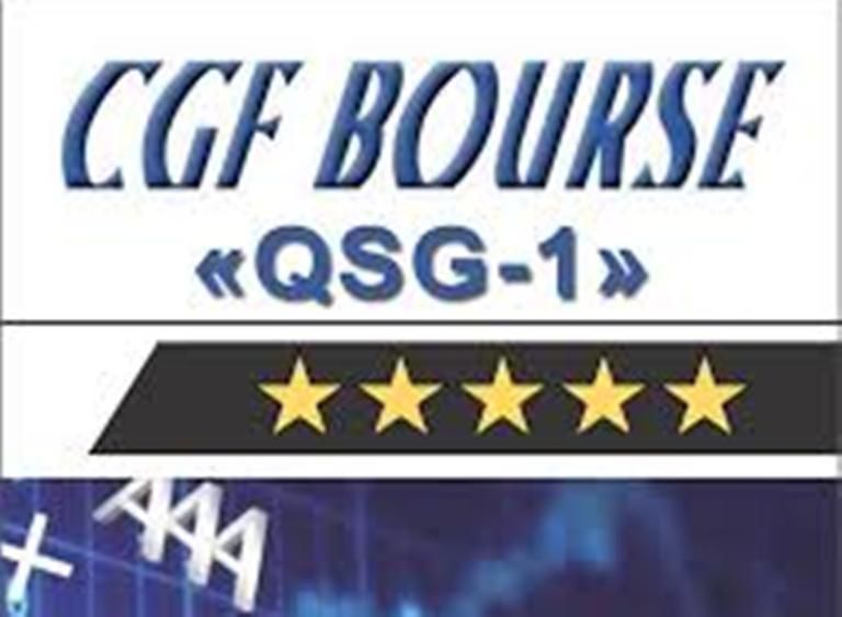 Notation financière :  Wara maintient la note Cgf Bourse à QSG-1, équivalente à cinq étoiles