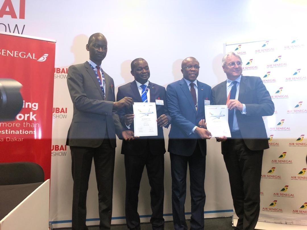 Air Sénégal : Signature d'un Memorandum of Understanding avec Airbus pour l'acquisition de 8 appareils A220