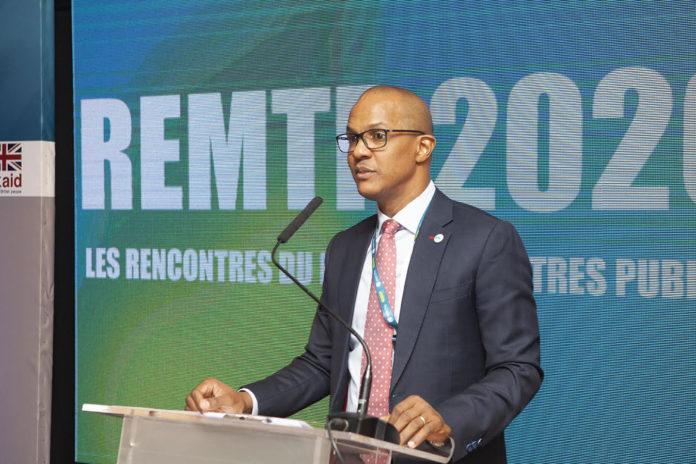 Adrien Diour, directeur de l'Agence Umoa-Titres