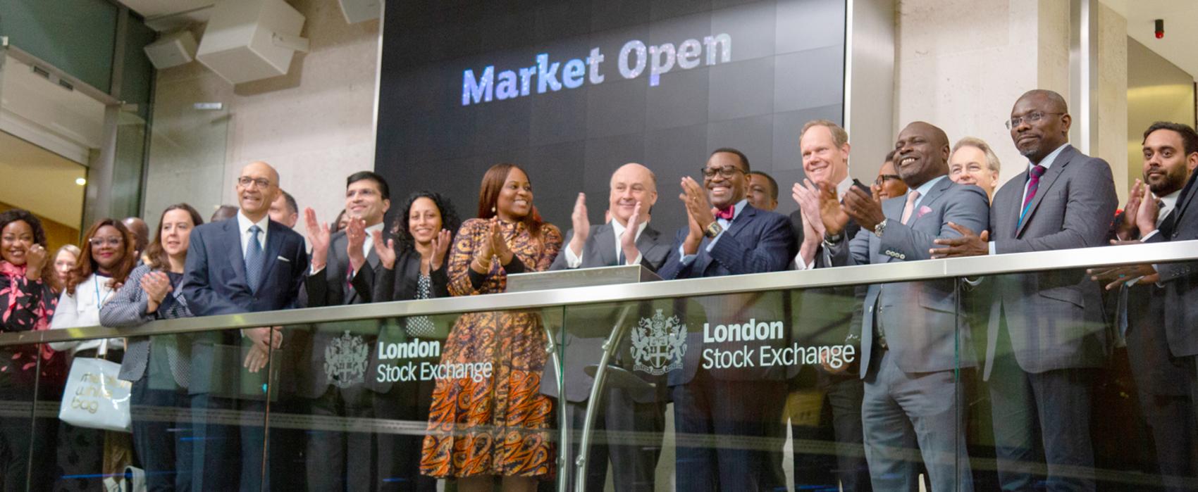 Bourse de Londres :  Le président de la Bad ouvre la séance de cotation du jeudi 23 janvier 2020