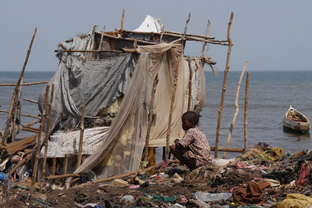 Photo: OMS/D. Licona Un environnement pollué est néfaste - en particulier pour les jeunes enfants.