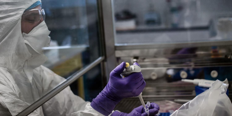 Le premier essai clinique a eu lieu lundi 16 mars aux Etats-Unis © AFP