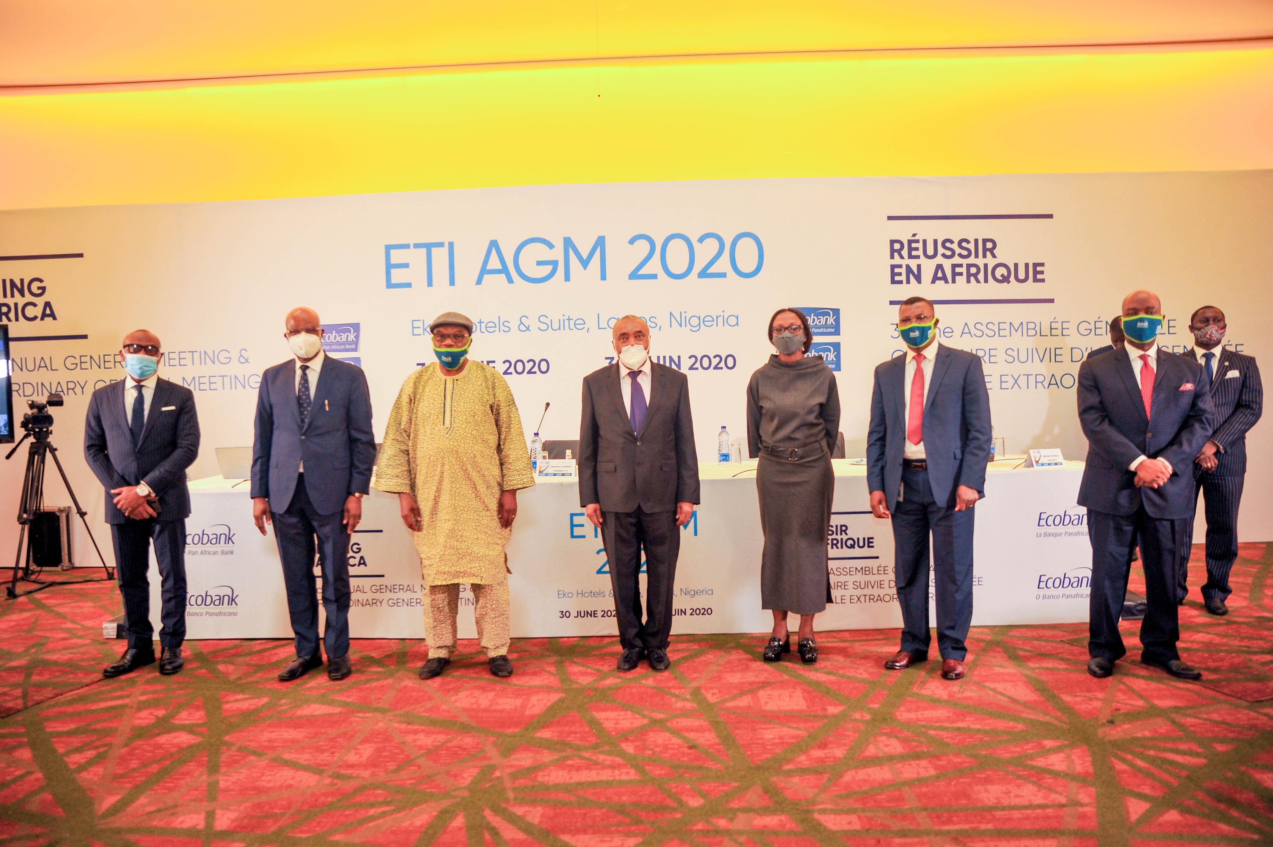 32ème assemblée générale de Ecobank Transnational Incorporated :  Les actionnaires approuvent les résolutions