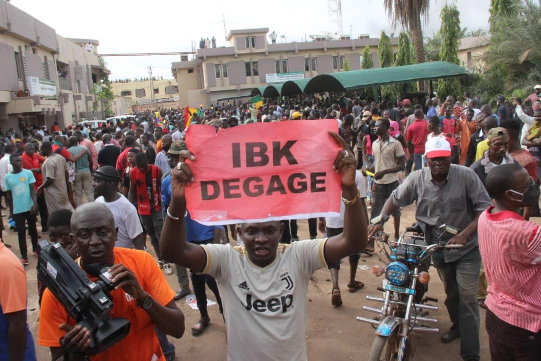 Manifestations à Bamako : un mort et une quarantaine de blessés dont cinq graves