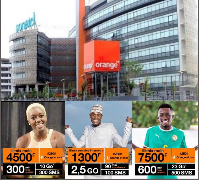 Nouvelles offres illimix : Sonatel Orange parle de baisse tarifaire pour 91% des clients