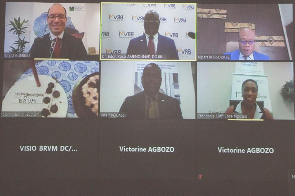 Marché financier régional : La Brvm enregistre sa première bourse en ligne