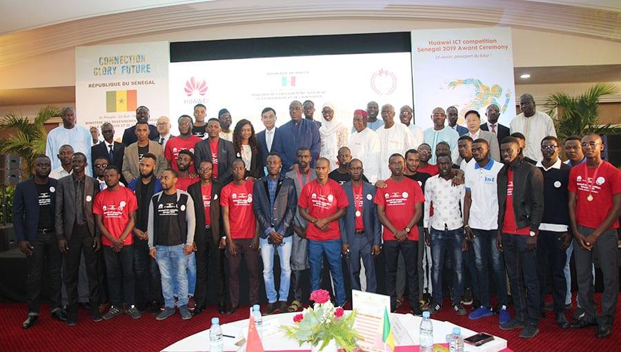 Huawei  Ict Competition 2020 : La multinationale chinoise récompense plus de 30  étudiants