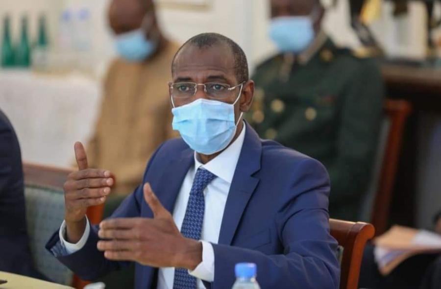 Abdoulaye Daouda Diallo, ministre des Finances et du Budget