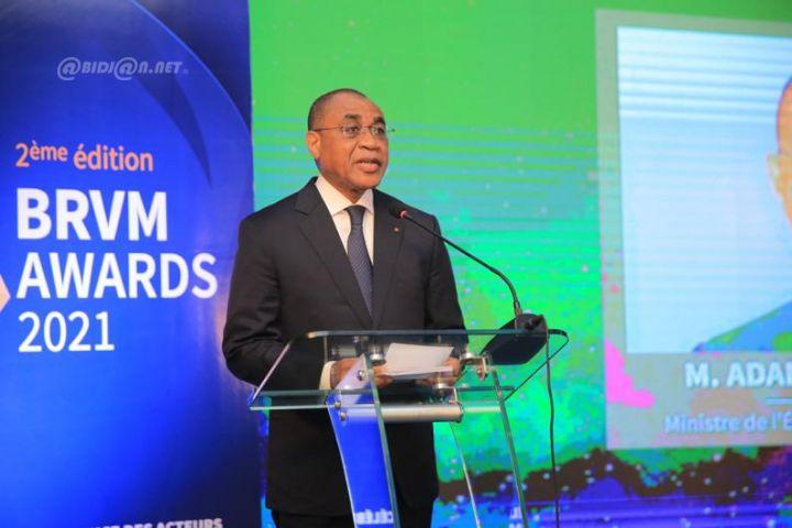 Adama Coulibay, ministre de l'Economie et des Finances de Côte d'Ivoire