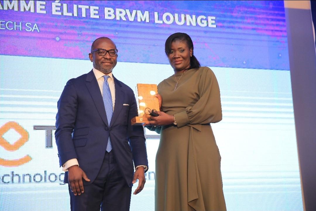 Brvm Awards 2021 : Neurotech remporte le prix de la Pme Elite Brvm