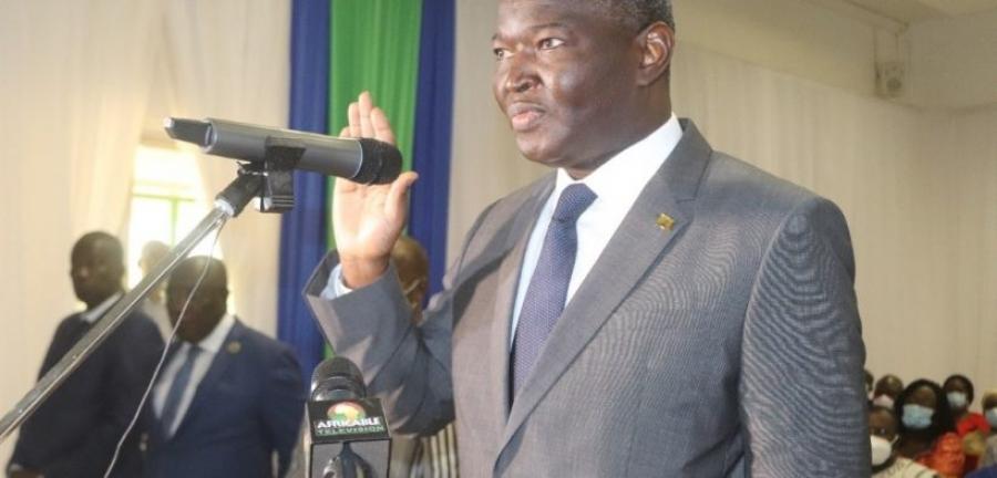 Porté à la tête de la Commission de l'Uemoa le 14 avril dernier : Abdoulaye Diop a prêté serment hier