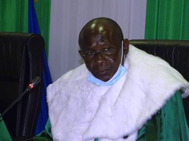 Daniel Amagoin Tessougue, président de la Cour de justice de l'UEMOA.