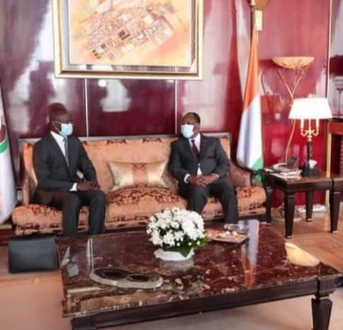 Fin de mission à la tête du Crepmf : Les adieux de Mamadou Ndiaye au président Alassane Ouattara