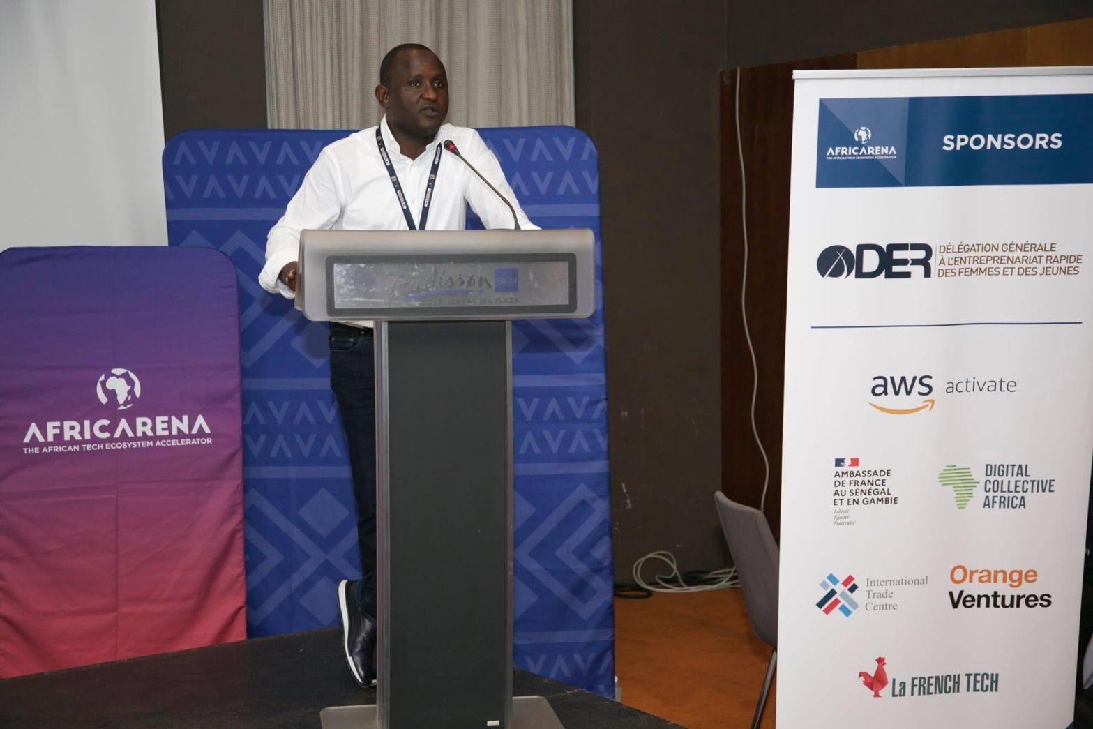 Papa Amadou Sarr délégué général à l'entreprenariat rapide des femmes et des jeunes (Der/Fj)