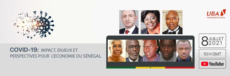 Impact, enjeux et perspectives de la Covid-19 pour l'économie sénégalaise :  Uba Sénégal tient un panel de haut niveau