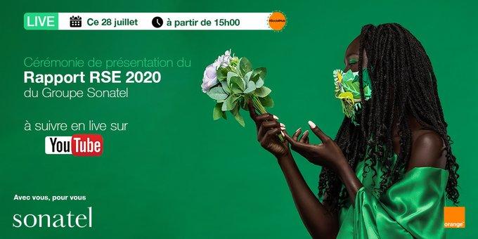 Présentation de son rapport Rse 2020 : La Sonatel marque son « empreinte » dans le quotidien des sénégalais