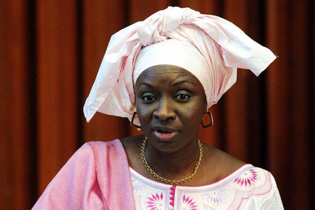 Le premier ministre  du Sénégal Madame Aminata Touré.
