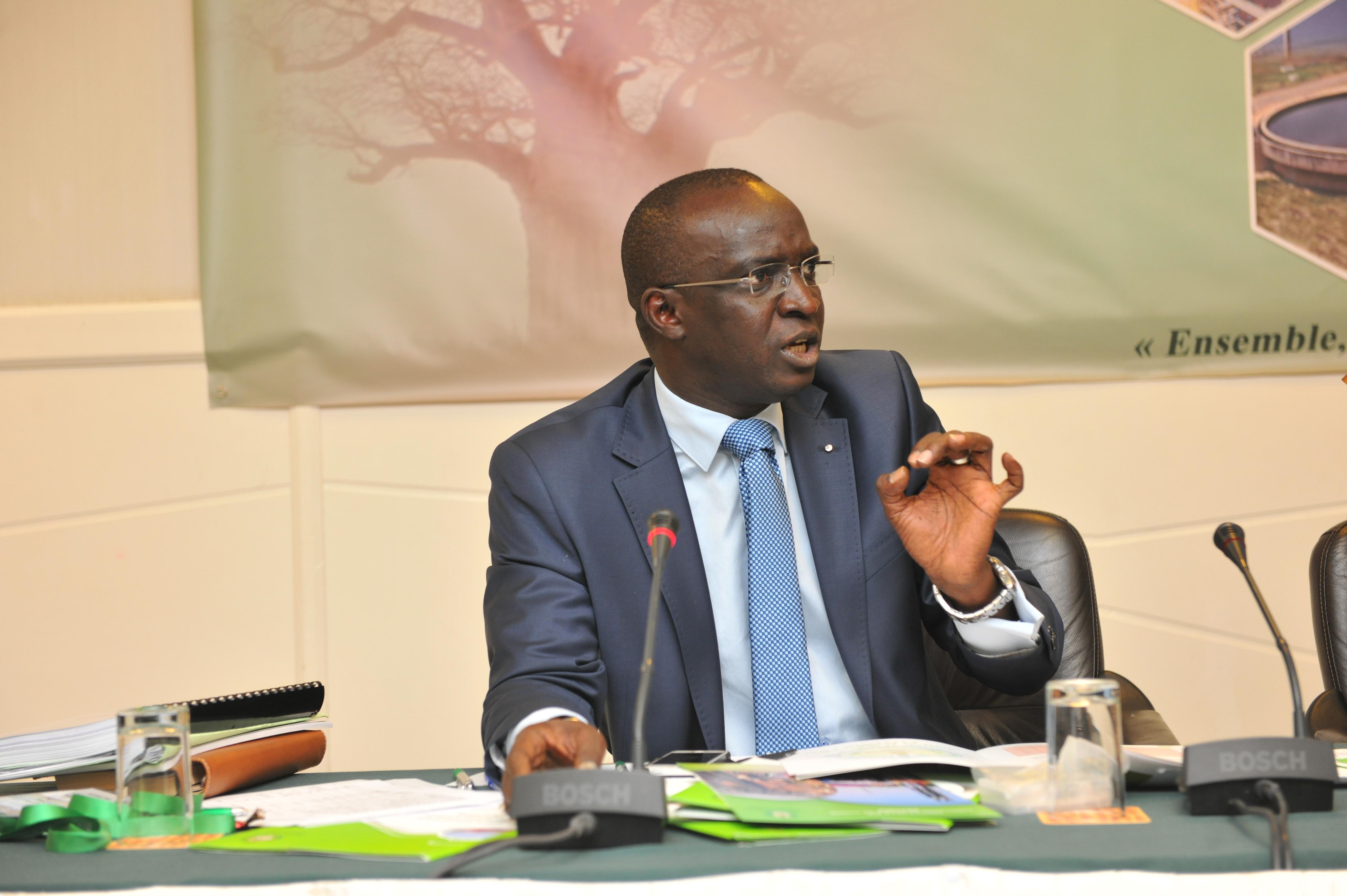 Mamadou moustapha ba nouveau directeur de cabinet du - Cabinet du ministre de l interieur ...