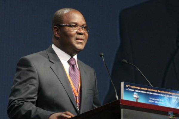 Monsieur Edoh Kossi AMENOUNVE, Directeur Général de la Bourse Régionale des Valeurs Mobilières (BRVM) et nouveau  membre du Comité Exécutif de l'ASEA