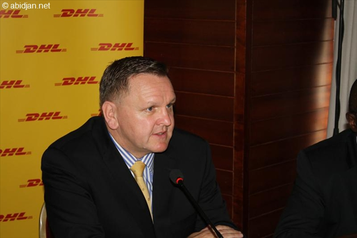 Charles Brewer, directeur général de DHL Express Afrique subsaharienne