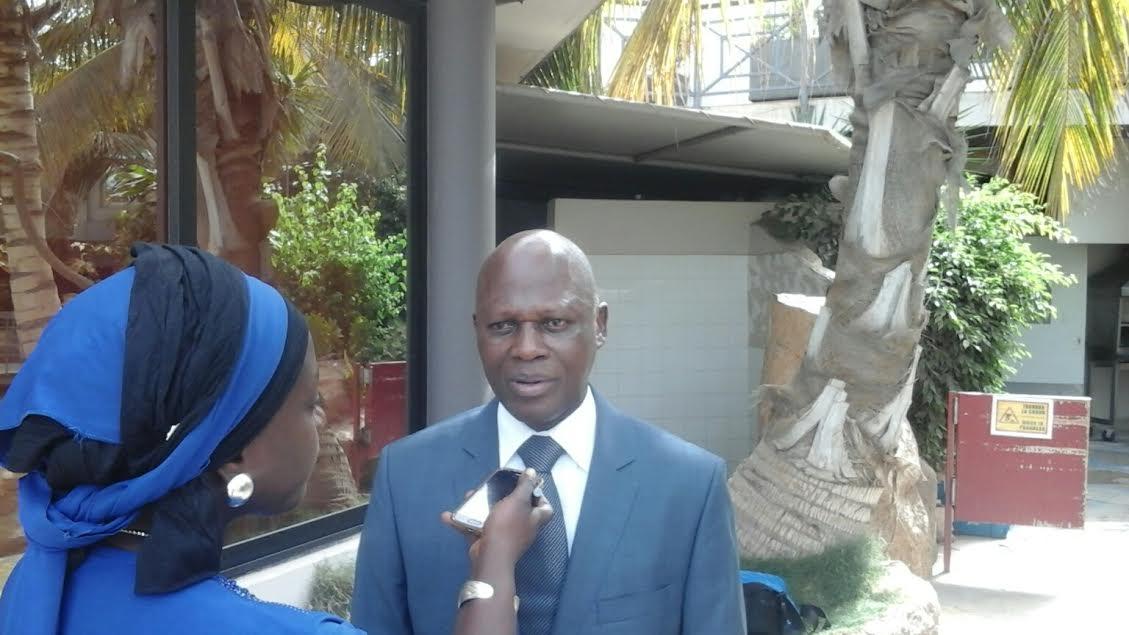 M. Kouamé Jean Baptiste DG CICA-RE