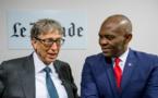 Les philanthropes, Tony O. Elumelu et Bill Gates, discutent de l'impact de la philanthropie mondiale sur les affaires, la politique et la culture au 'Club de l'Economie' organisé par 'Le Monde' à Paris
