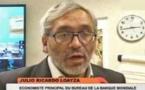 JULIO RICARDO LOAYZA, ECONOMISTE PRINCIPAL DU BUREAU DE LA BANQUE MONDIALE AU SENEGAL :   «La dette n'est pas un problème au Sénégal»