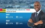 EMISSION SIMULTANEE D'OBLIGATIONS ASSIMILABLES DU TRESOR du Togo: 50 milliards de FCFA mis en adjudication ciblée  sur le marché financier