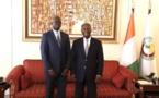 Marché financier : Mamadou Ndiaye présente les projets de réformes du CREMPF à Alassane Ouattara