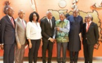 Le Président guinéen accueille Tony Elumelu, les entrepreneurs de TEF et s'engage à soutenir l'entreprenariat et le secteur privé en Guinée