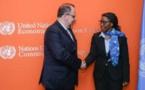 Commerce : Songwe et le président du Comité économique et social de l'UE discutent des avantages de la ZLECA