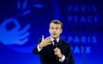 Discours d'ouverture du Président de la République Emmanuel Macron au Forum de Paris sur la paix