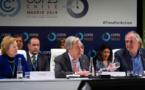 A la COP25, Guterres appelle le secteur privé à accélérer ses efforts face à l'urgence climatique