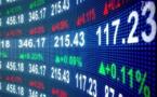 BRVM : Baisse de 41,115 milliards FCFA de la capitalisation boursière des actions
