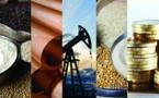 Marché mondial des matières premières : Hausse des prix au mois de juillet 2021