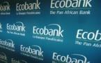 Résultats 1er trimestre 2014 : Ecobank réalise un bénéfice consolidé  de près de 44 milliards de FCFA